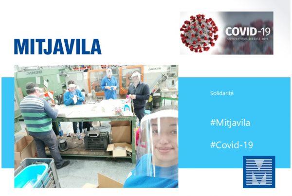 Mitjavila fabrique des visières face au covid-19