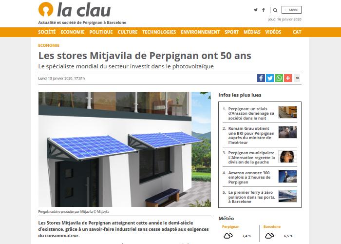 Mitjavila 50 ans photovoltaïque
