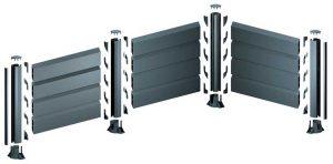 Système de clôture aluminium