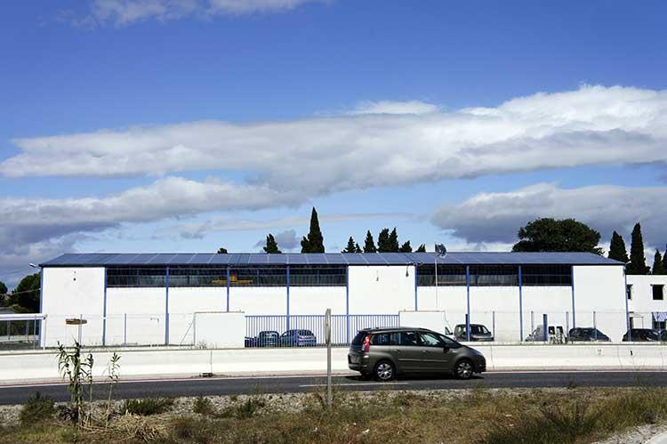 Panneaux solaires Bâtiment Mitjavila