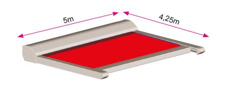 Store véranda classic dimensions maxi