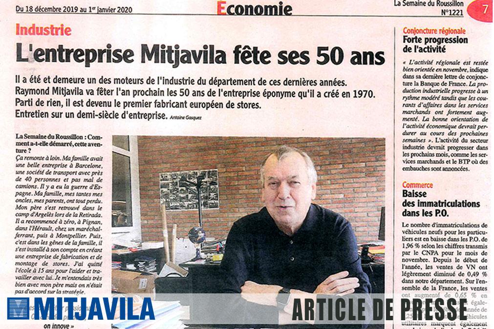 L'entreprise Mitjavila fête ses 50 ans